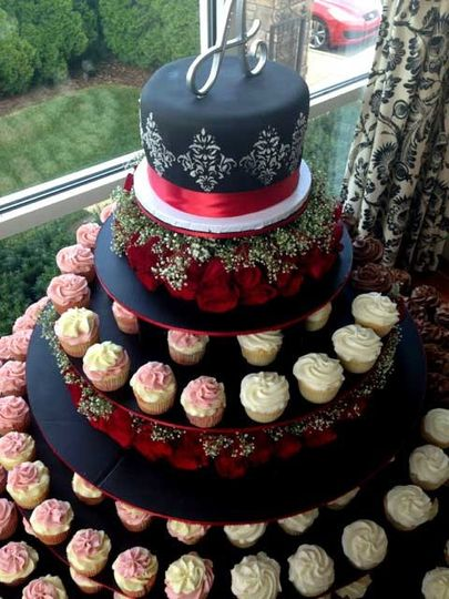 cupcake wedding cakes nashville tn the cupcake collection wedding cake nashville tn 13179