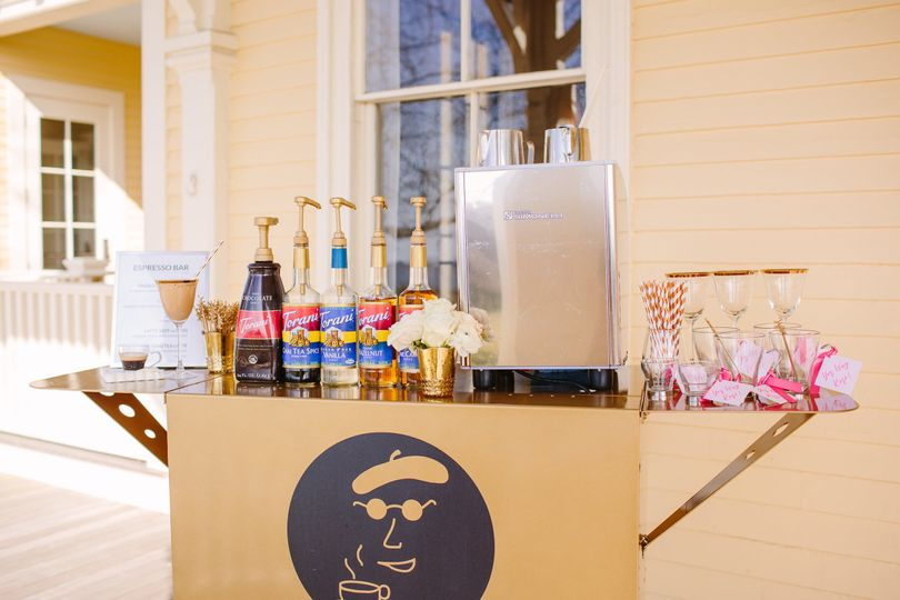 Espresso Dave's Coffee Catering Pop Up Espresso Bar for Weddings and Special Events Boston Brides,...
