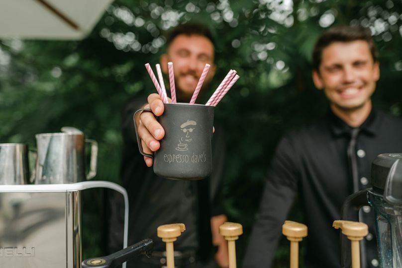 Espresso Dave's happy baristas