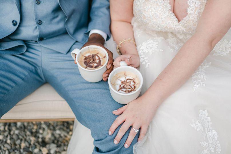 Latte art by Espresso Dave