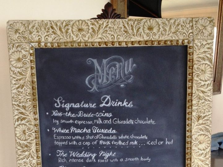 Tmx 1342968024518 WeddingReceptionJuly2012sign Boston, MA wedding catering