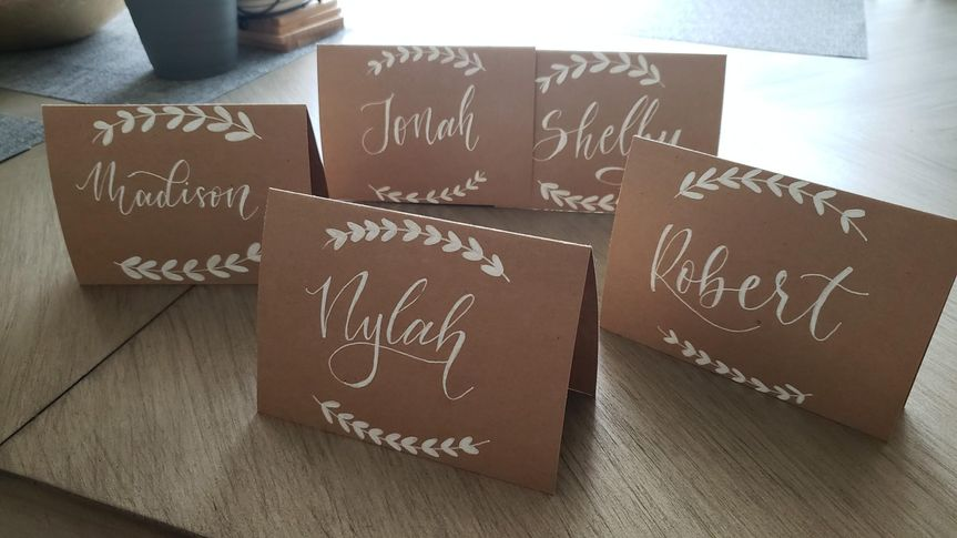 Some place cards I have!