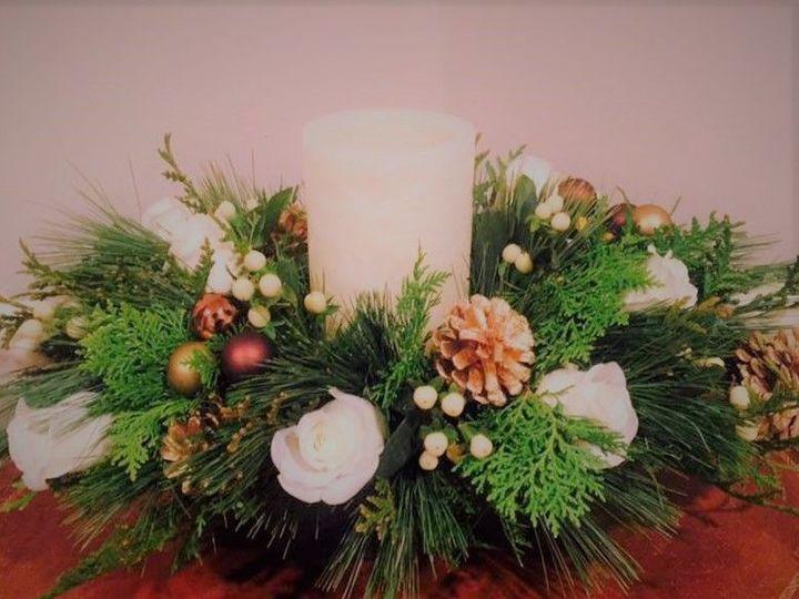 Tmx 1521249779 B0d597a510b9346a 1521249778 Ad72725924fdc617 1521249780251 5 Christmas   Candle Braintree, MA wedding florist