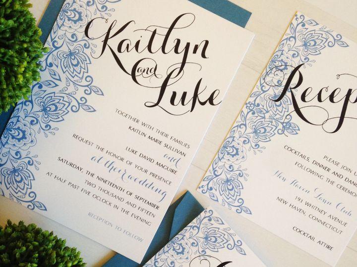 Tmx 1452206351149 Wedding White Plains, New York wedding invitation