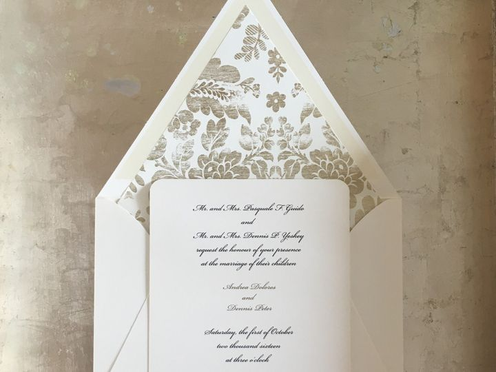 Tmx 1493483760219 06e30ce7 F713 46ae 9257 D2c9d8948b01 White Plains, New York wedding invitation