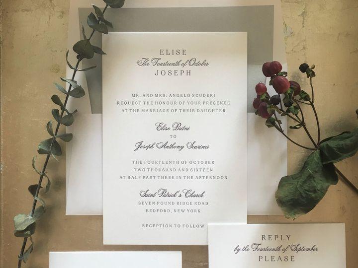 Tmx 1493483839367 C119d304 B234 4182 8132 19da6951462f White Plains, New York wedding invitation
