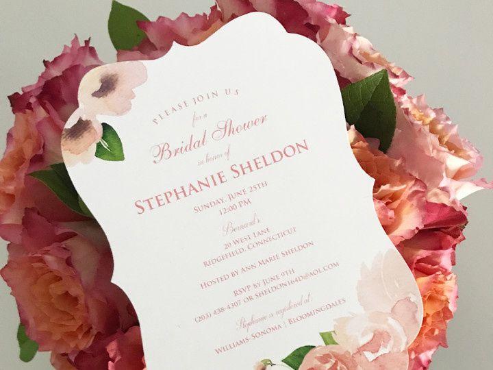 Tmx 1498486354444 Bridal Shower Invitationsteph Sheldon White Plains, New York wedding invitation