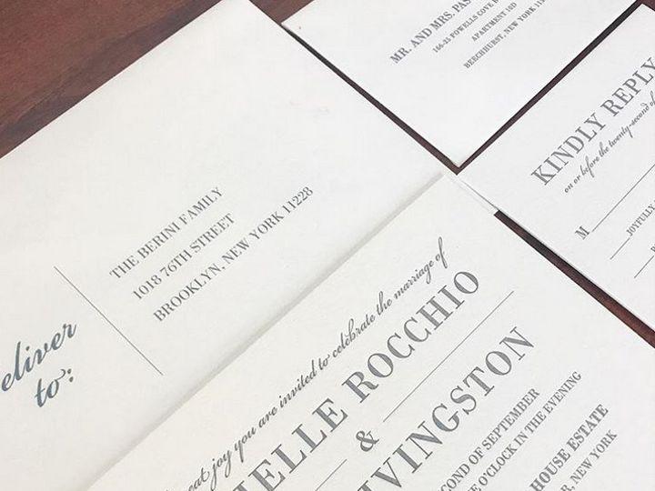Tmx 1508960176980 Daniellejohn White Plains, New York wedding invitation
