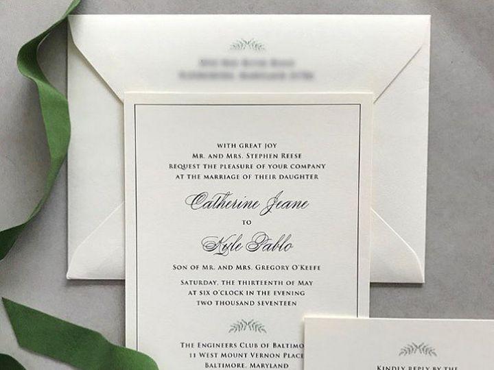 Tmx 1508960177288 Calliekyle White Plains, New York wedding invitation