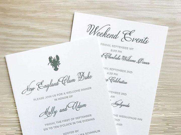 Tmx 1508960209486 Mollyadam White Plains, New York wedding invitation