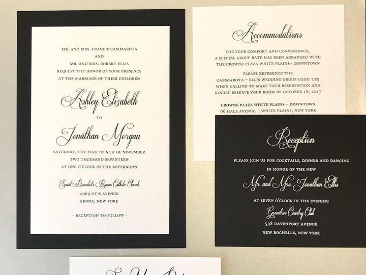 Tmx 1508961109902 Ashley White Plains, New York wedding invitation