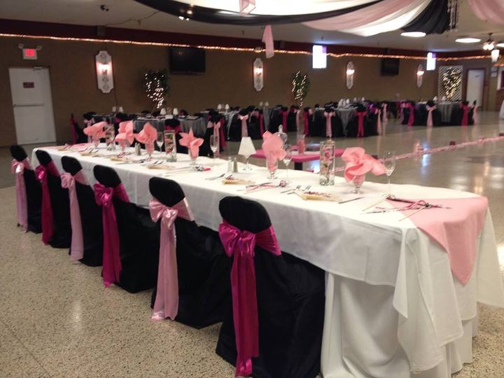 Chair covers available