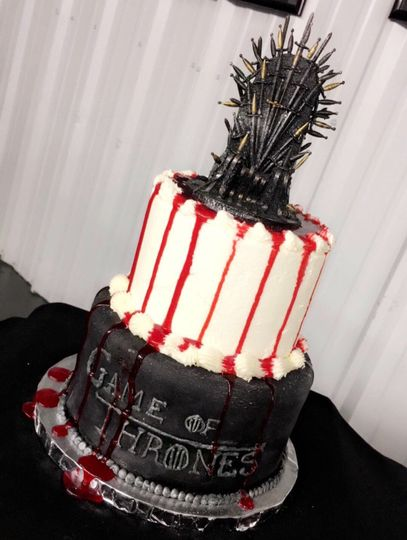 Unique Grooms Cakes!