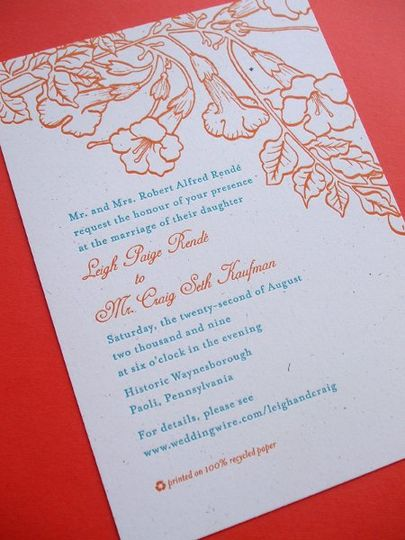 800x800 1258676863912 letterpress.trumpetvine.wedding.invitation