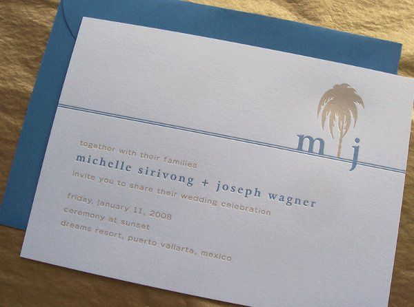 Tmx 1258676864115 Mj.palminvite Minneapolis wedding invitation