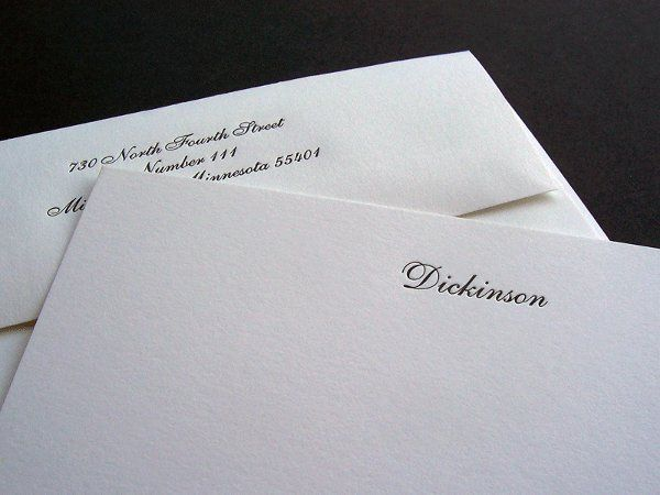 Tmx 1258676867115 Simple.letterpress.wedding.thankyou Minneapolis wedding invitation