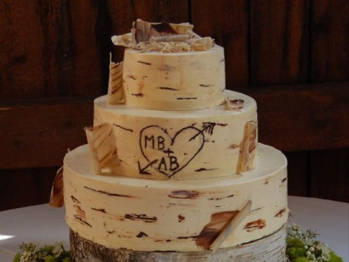 Tmx 1303842373780 MandyBirchBark0001 Waterbury Center, VT wedding cake