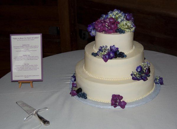Tmx 1303843056280 Hydrangiawithfruit Waterbury Center, VT wedding cake