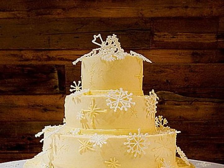 Tmx 1303843209108 Snowflake2 Waterbury Center, VT wedding cake