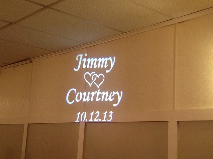 Custom Gobo Projector / Monogram Light