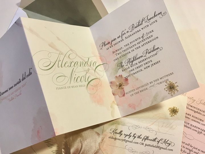 Tmx E422f3a6 0a5c 4d04 9ee8 35aba3723a80 51 129065 157549614080727 Succasunna, NJ wedding invitation