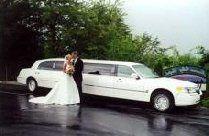 a wedding limo