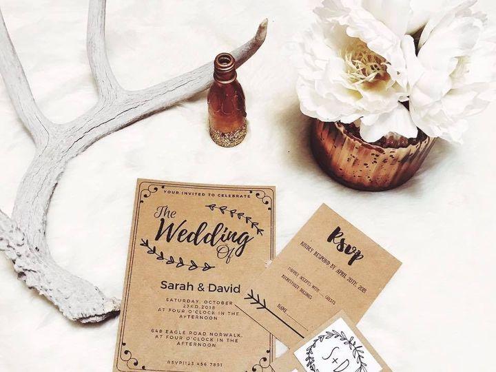 Tmx 1490716811222 Weddingof Tulsa wedding invitation