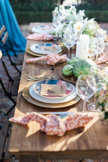 Exquisite Table Details