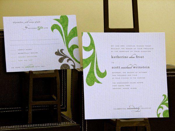 Tmx 1270250348742 Flourish3b Plymouth wedding invitation