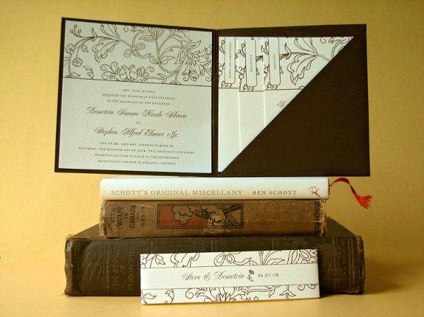 Tmx 1270250358257 CocoaRomance4b Plymouth wedding invitation