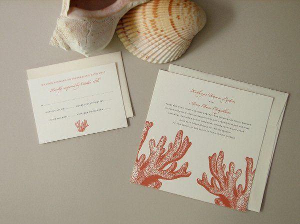 Tmx 1270250363538 Coral3 Plymouth wedding invitation