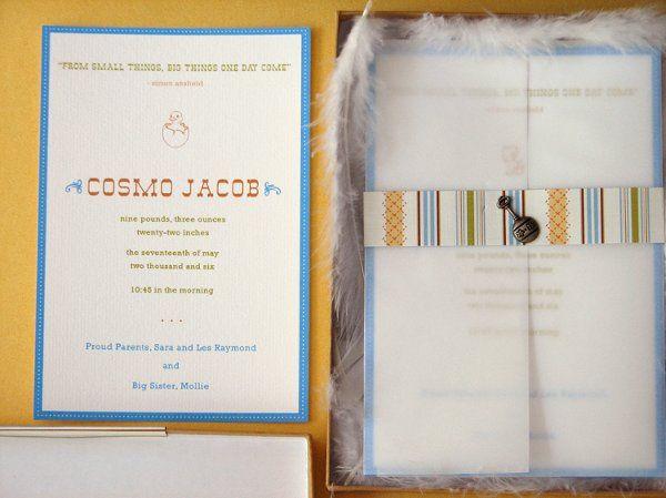 Tmx 1270250365929 Featherbaby2 Plymouth wedding invitation