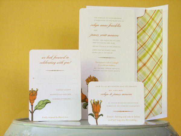 Tmx 1270250366867 VintageHibiscus3b Plymouth wedding invitation