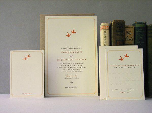 Tmx 1270250369273 LoveBirds3 Plymouth wedding invitation