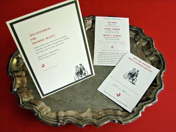 Tmx 1270253925788 InTandem2 Plymouth wedding invitation