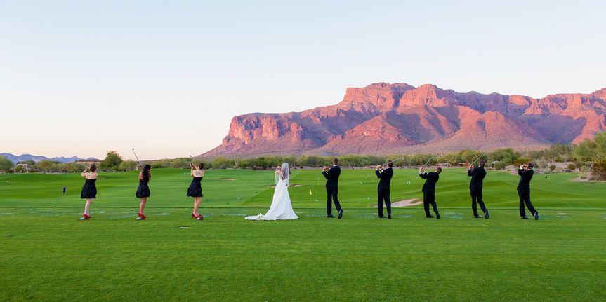 bridal golf