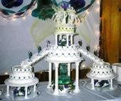 Wedding cake 7 cakes