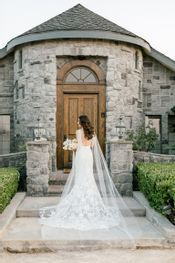 The dress and estate entrance