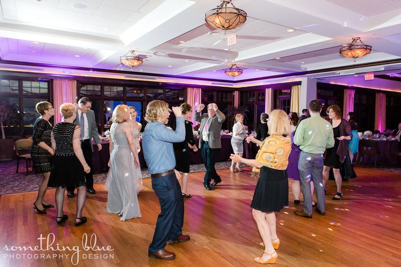 Guests' dancing