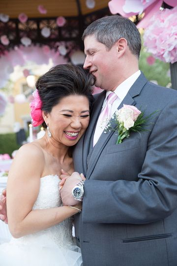las vegas wedding photography at hilton lake las v