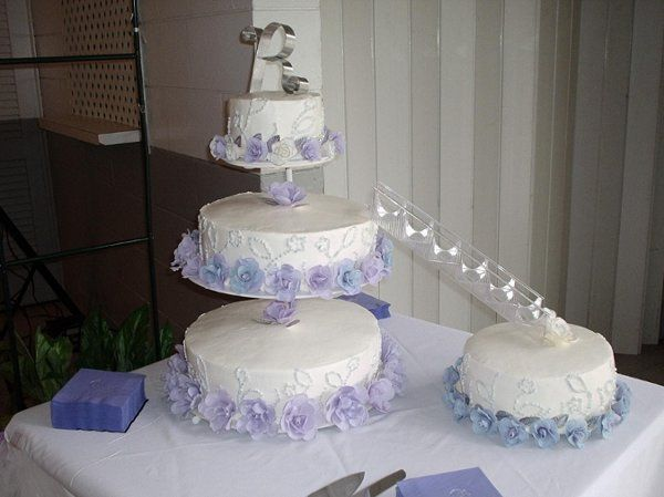 Tmx 1250911282252 LavenderBlue Deland wedding cake