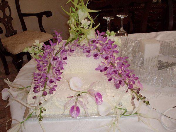 Tmx 1250911603377 Itallorchids Deland wedding cake