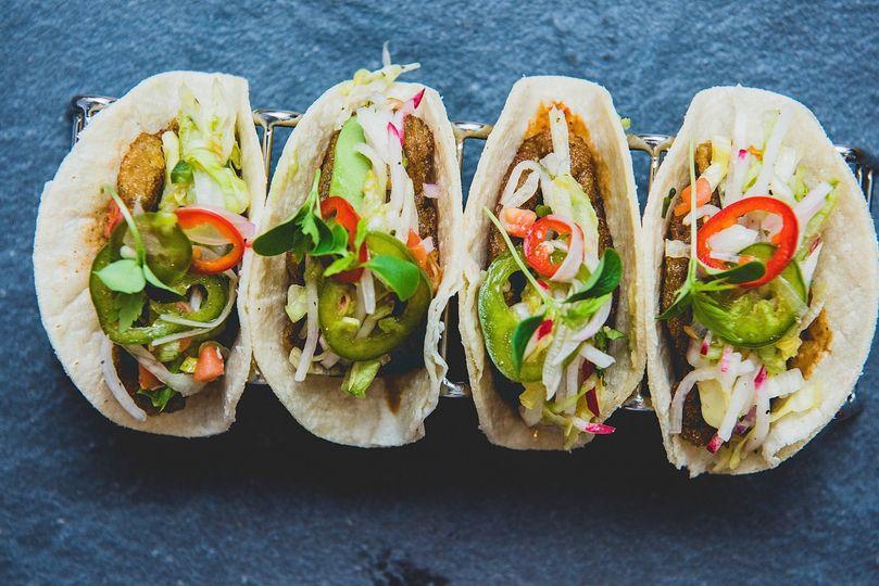 Yuca Plantain Taco