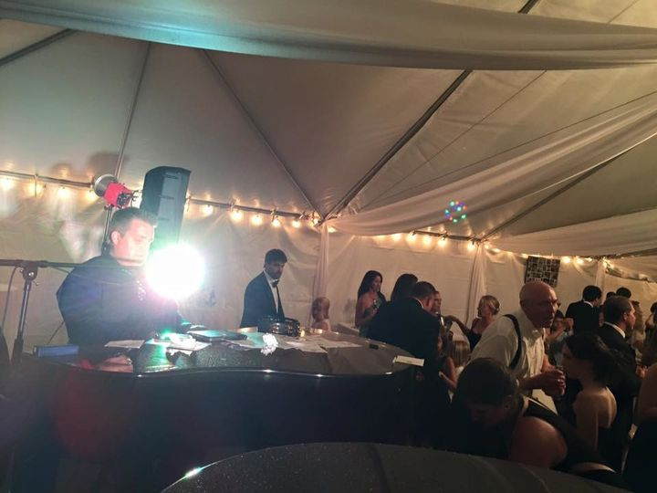 Tmx 1508793460253 John At Piano Tent Wedding Orlando, FL wedding band