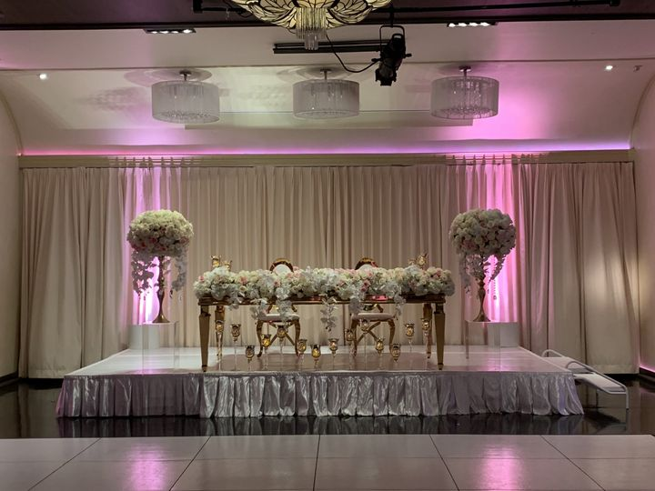 Head table decor