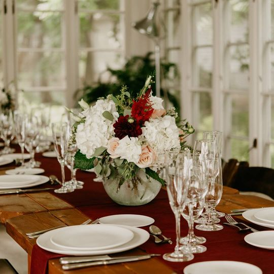 Place setting design & rental
