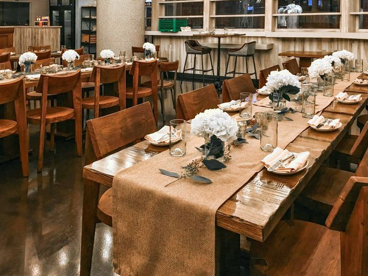 Table & place setting rentals