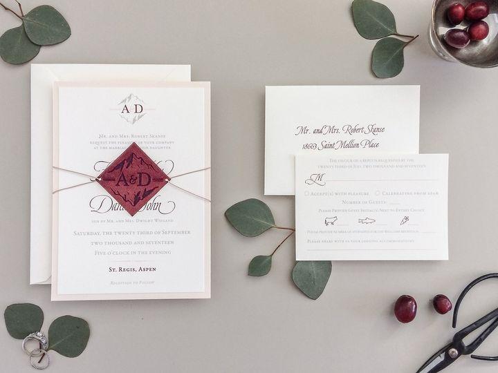 Tmx Velvet Blush Wedding Invitations 10 51 567165 Vail, Colorado wedding invitation