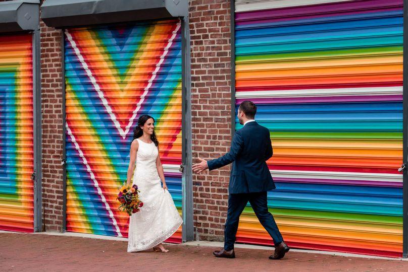 first look wedding love wall dc 51 777165