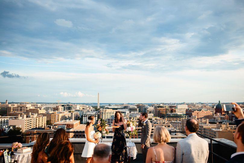 wedding ceremony rooftop washington dc1 51 777165 161751192796709
